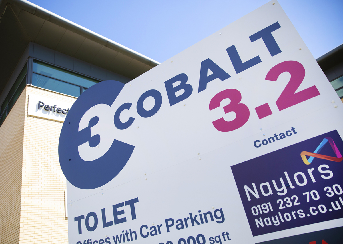 Cobalt 3, Silverlink, Newcastle upon Tyne - signage