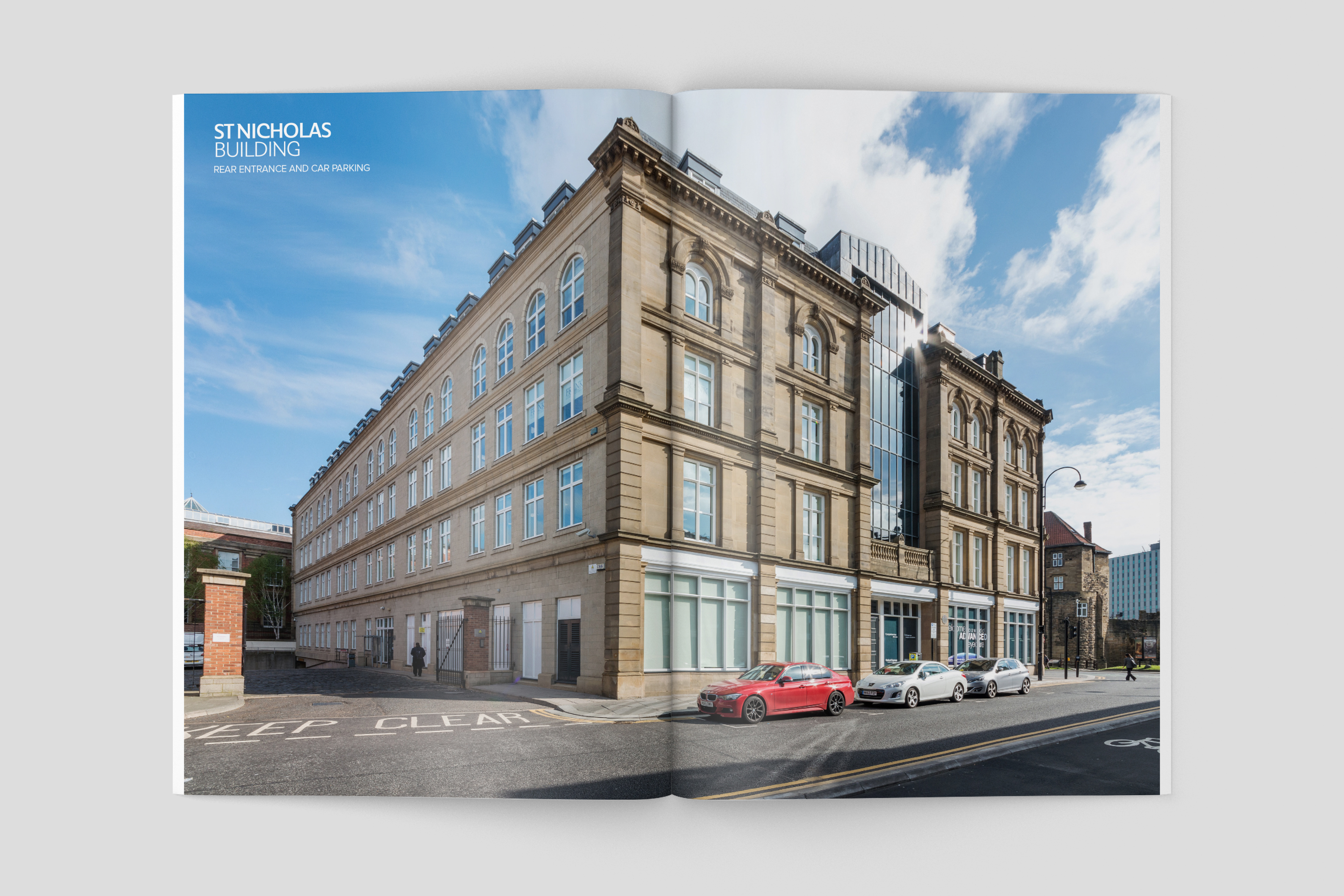 St Nicholas Building, Newcastle - marketing brochure