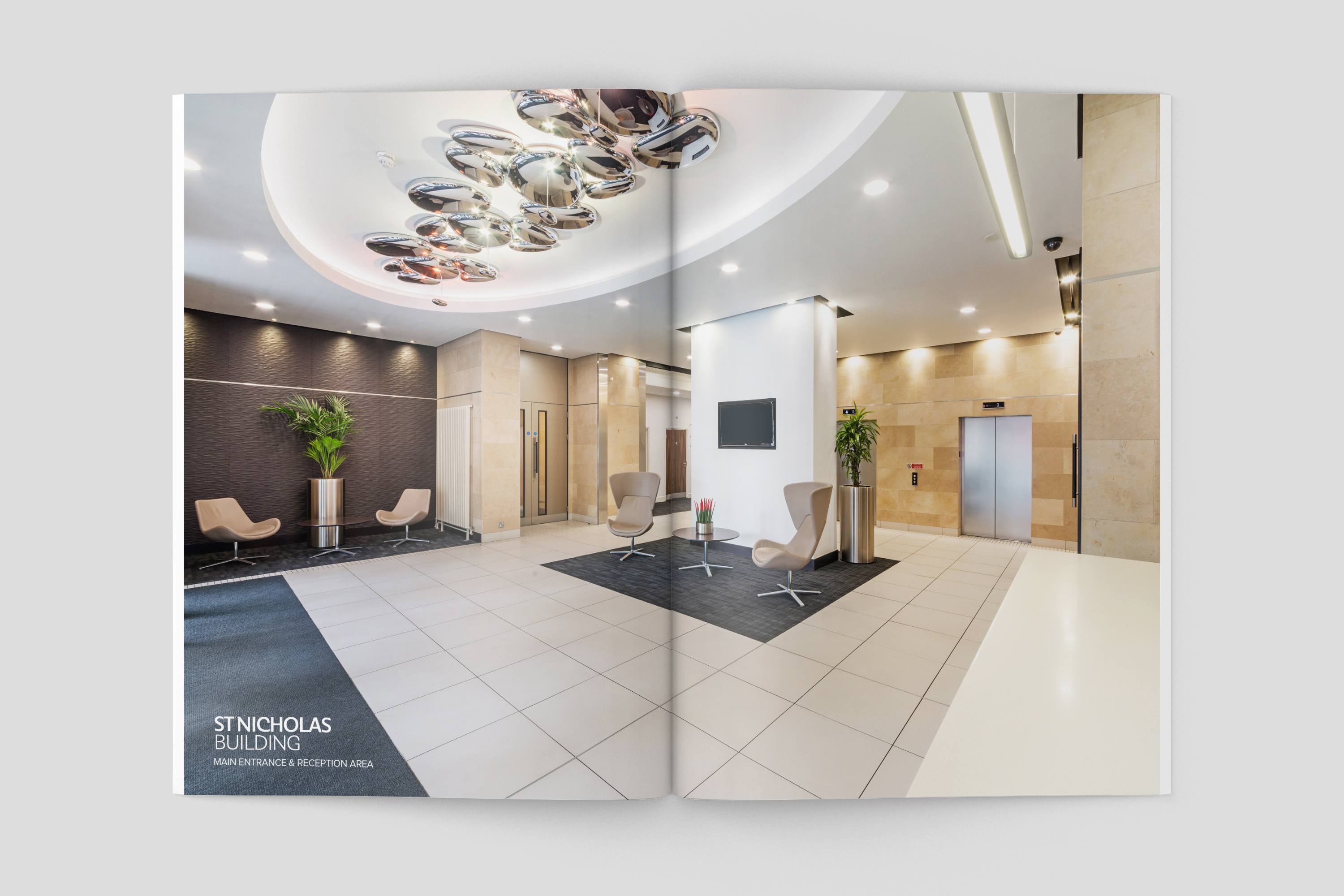 New letting brochure for St Nicholas Building, Newcastle upon Tyne
