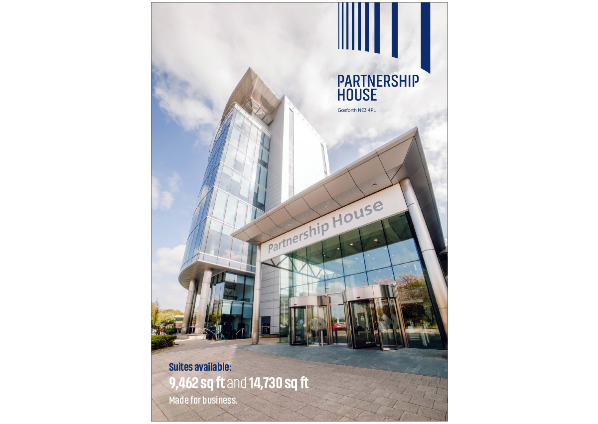 Partnership House, Gosforth - letting brochure